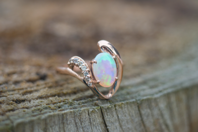 Colored Stone Ring